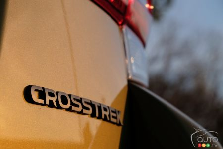 2021 Subaru Crosstrek Outdoor, badging