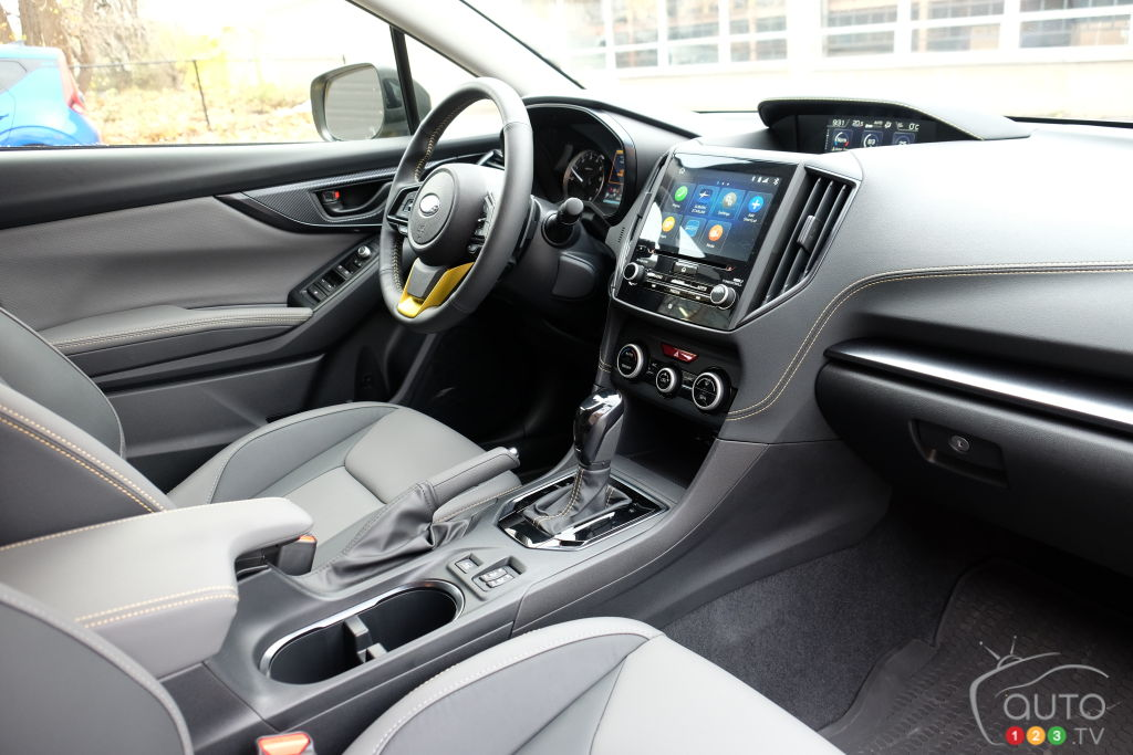 Subaru Crosstrek, intérieur