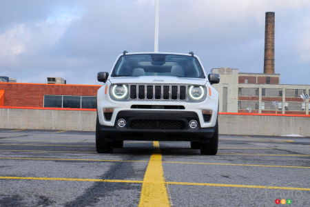 2020 Jeep Renegade, front