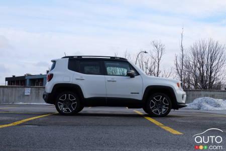 2020 Jeep Renegade, profile