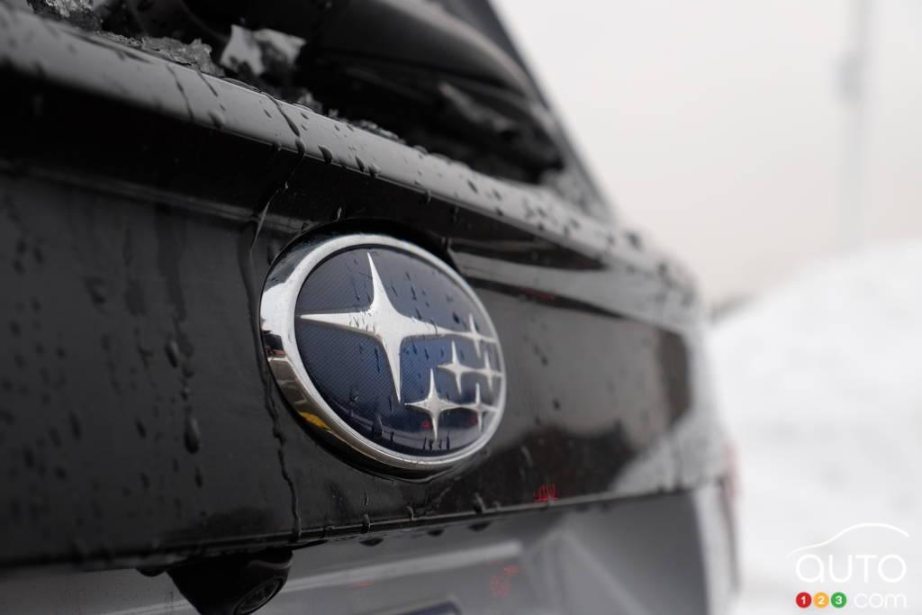 Subaru Forester 2021, écusson