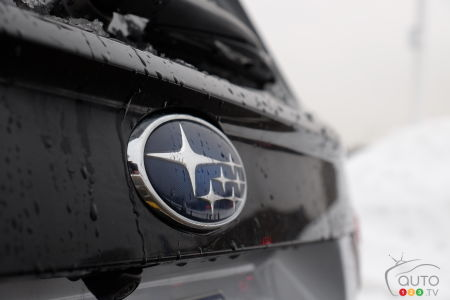 2021 Subaru Forester, badge