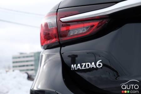 2021 Mazda6, nameplate