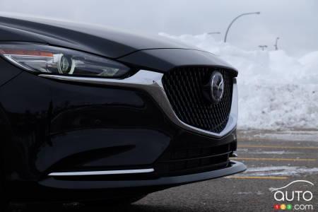 2021 Mazda6, front end