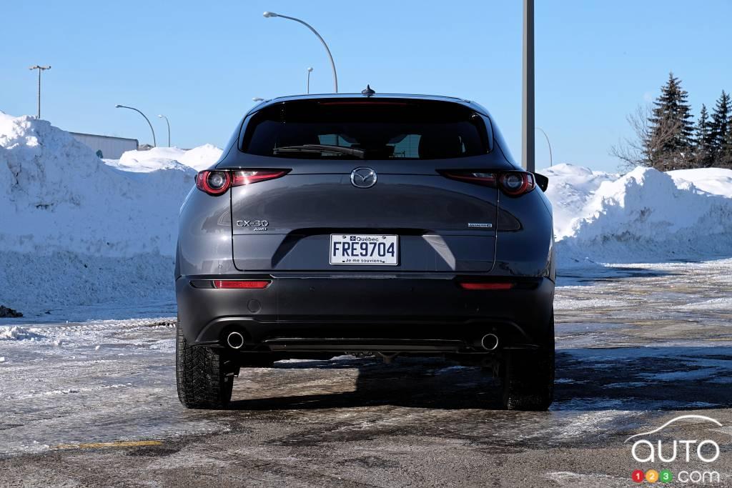 Mazda CX-30 2021, arrière