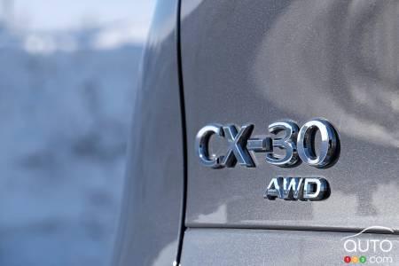 2021 Mazda CX-30, badging
