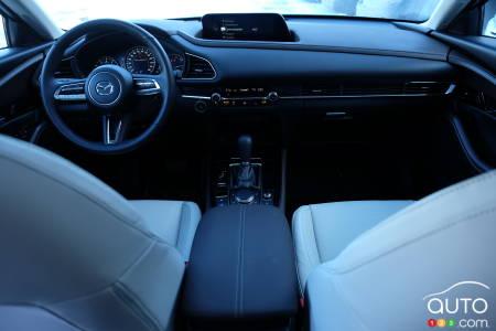 2021 Mazda CX-30, interior