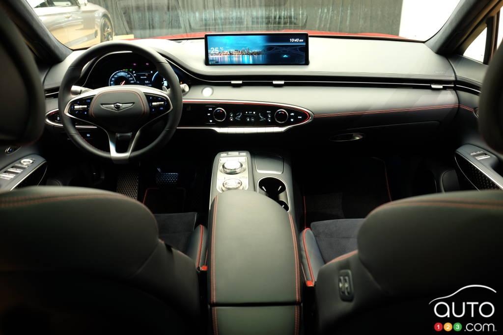 Genesis GV70 2022, intérieur