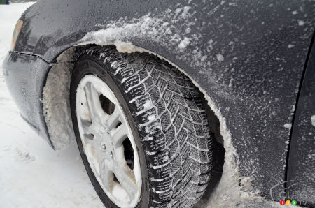 The Michelin X-ICE SNOW tire