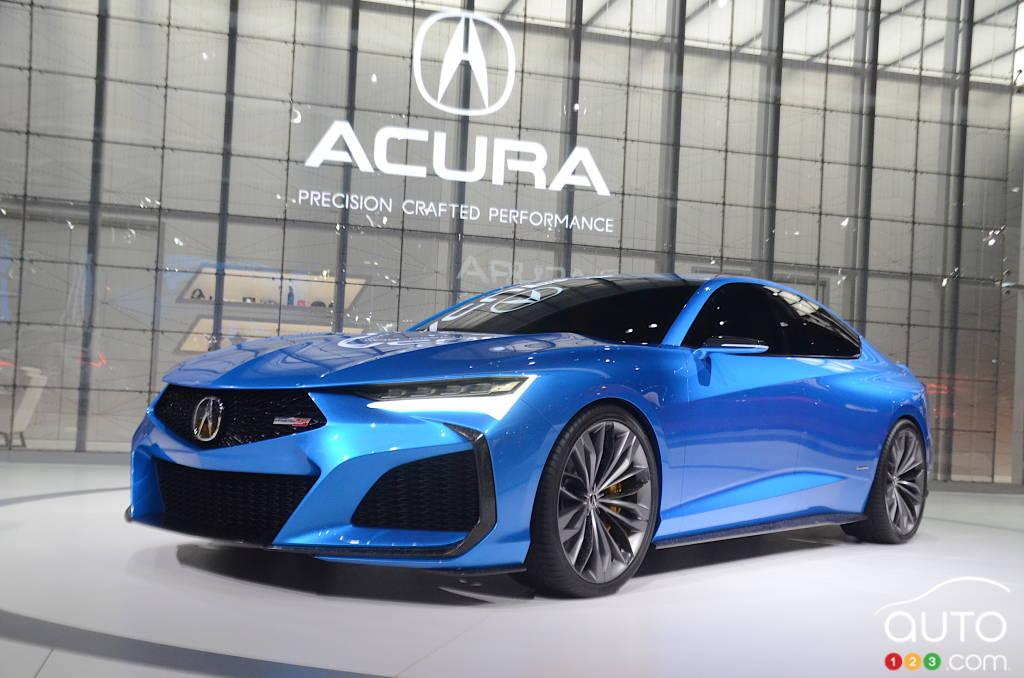 Prototype Acura Type S
