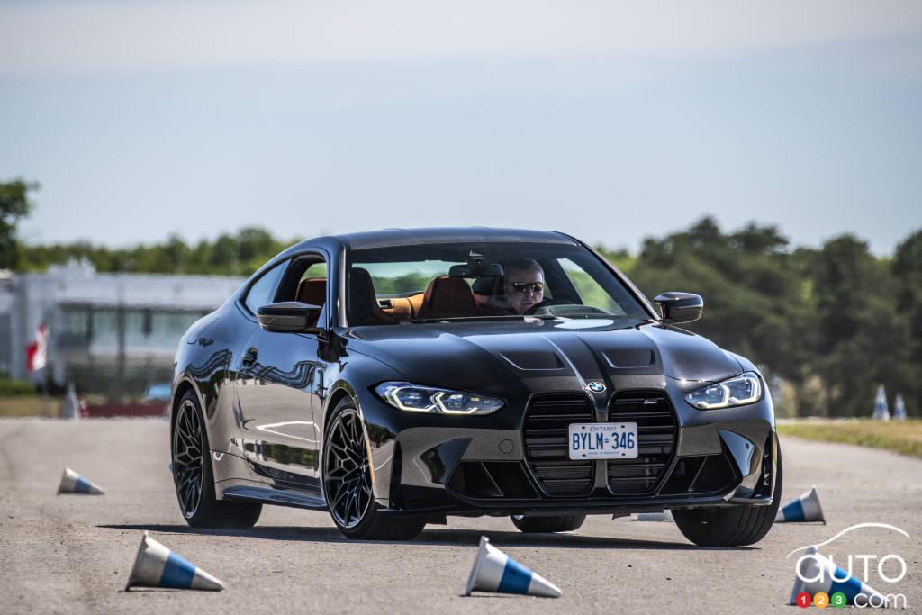 La BMW M4 Competition, en plein virage