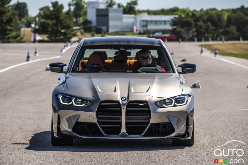 La BMW M3, avant