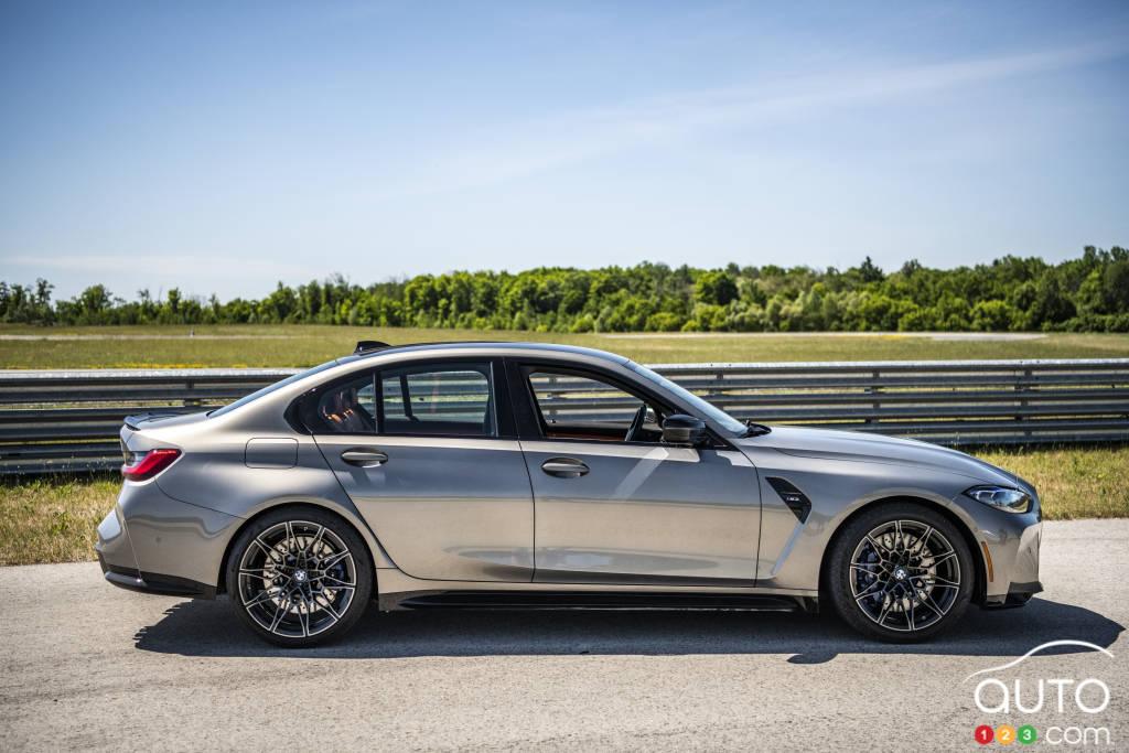 La BMW M3, profil