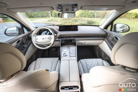 2021 Genesis GV80, interior