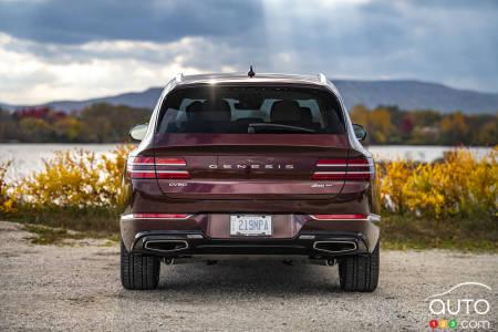 2021 Genesis GV80, rear