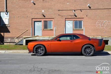 2020 Dodge Challenger R/T Scat Pack, profile
