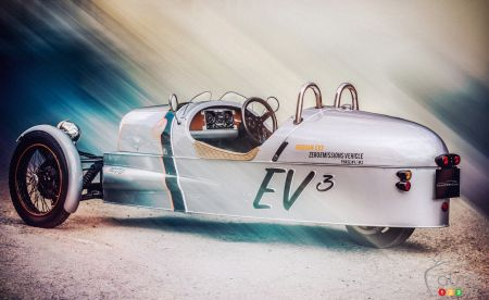 The Morgan EV3 Prototype