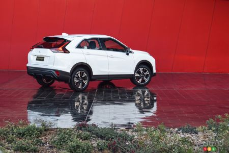 2022 mitsubishi eclipse cross introduced | car news | auto123