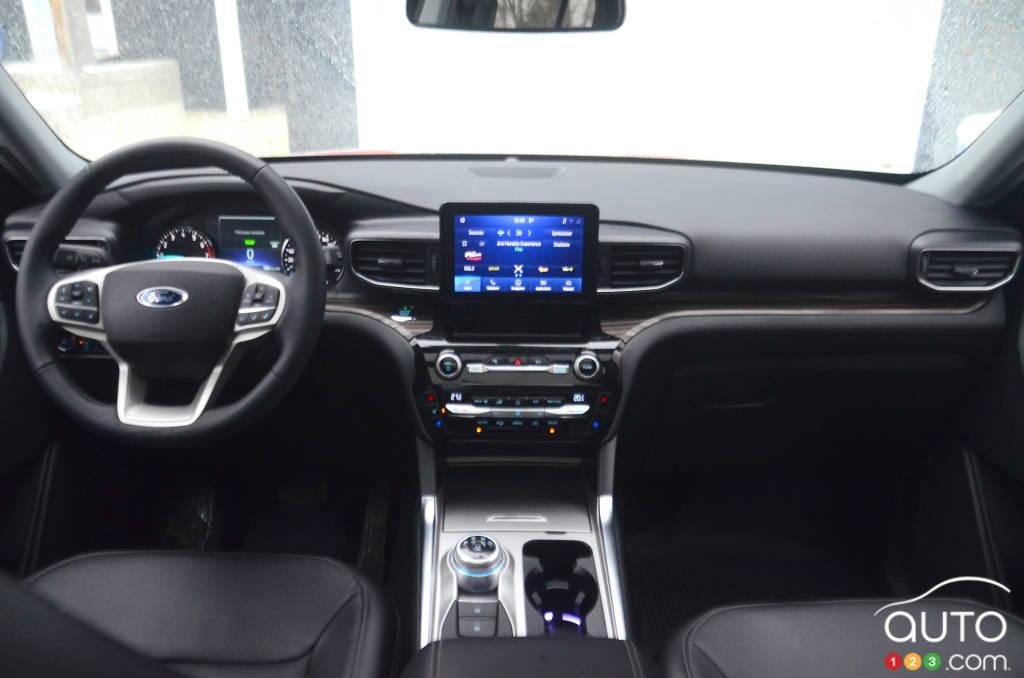 Ford Explorer hybride 2021, intérieur
