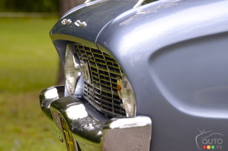 1960 Ford Falcon, front grille