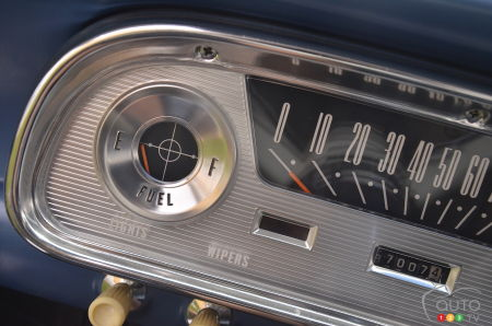 1960 Ford Falcon, gauges