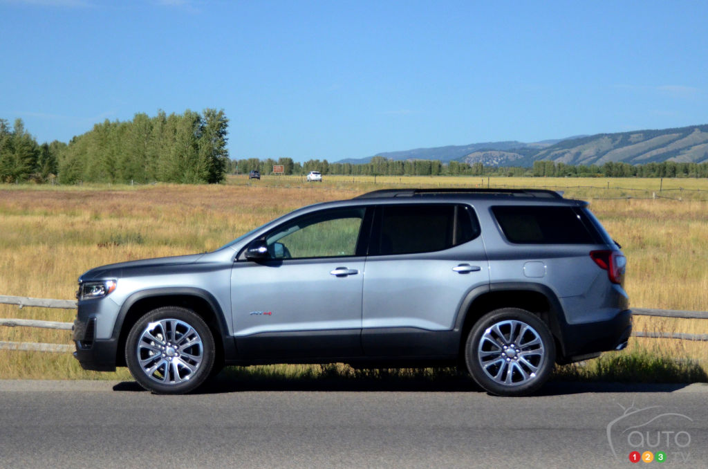 2020 GMC Acadia: Mid-update, News, Release >> 2020 Gmc Acadia At4 First Drive Car Reviews Auto123
