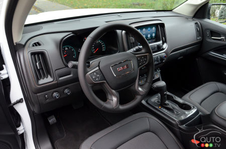 2021 GMC Canyon AT4, interior