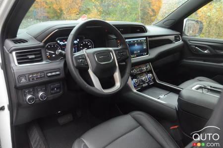 2021 GMC Yukon, interior