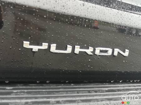 2021 GMC Yukon 2021, nameplate