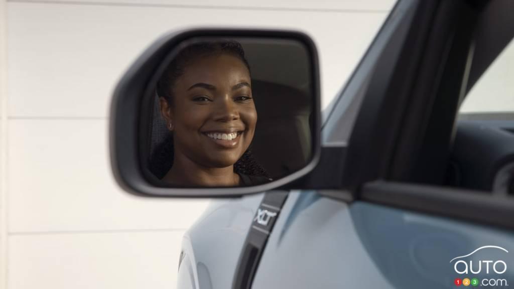 Gabrielle Union dans le Ford Maverick 2022