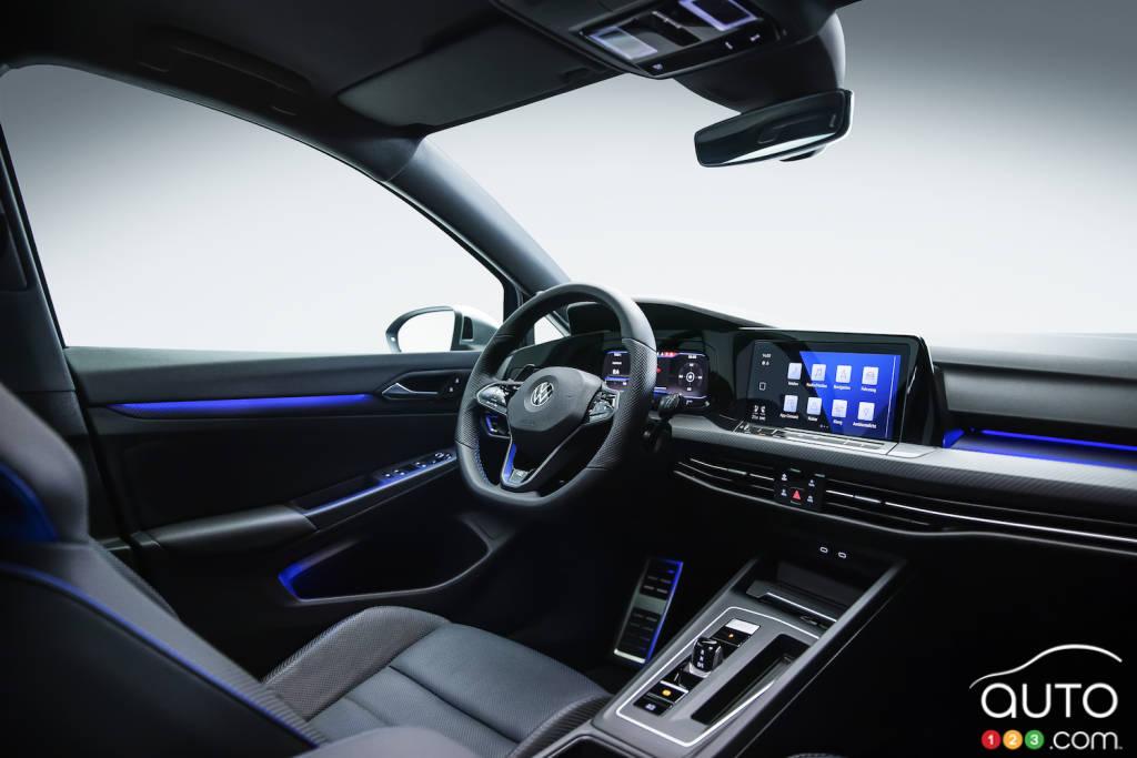 Volkswagen Golf R, intérieur