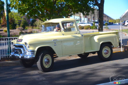 1955 GMC 100 Series NAPCO 4X4