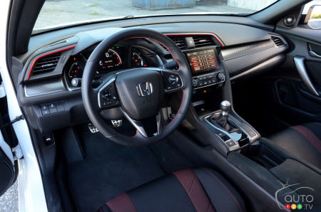 2020 Honda Civic Si Coupe, interior
