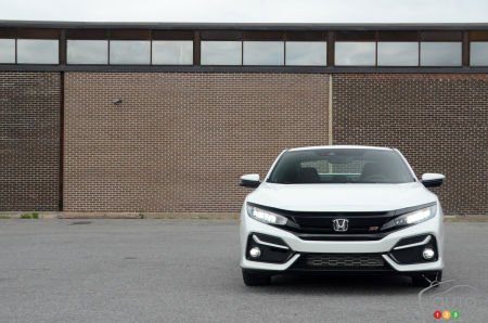 2020 Honda Civic Si Coupe, front