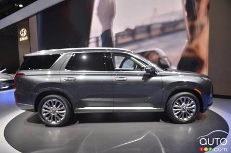 Los Angeles 2018: Hyundai presents its Palisade SUV | Car ...