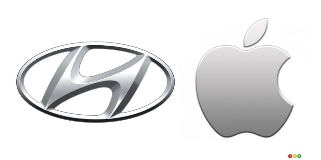 Logos de Hyundai, Apple