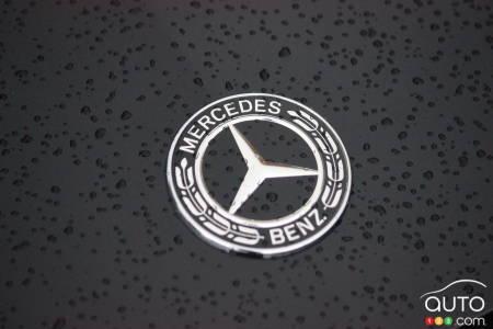 2020 Mercedes-Benz E 450, logo