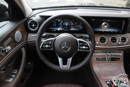2020 Mercedes-Benz E 450, interior