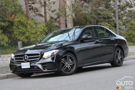 2020 Mercedes-Benz E 450, three-quarters front