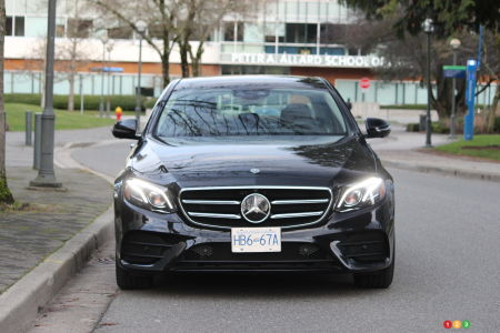 2020 Mercedes-Benz E 450, front