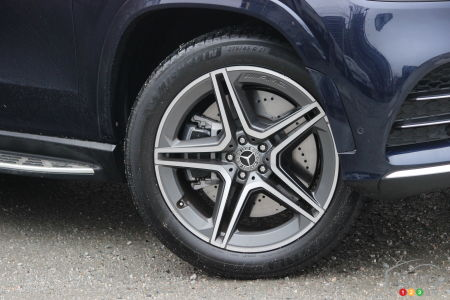 2020 Mercedes-Benz GLS 450, wheel
