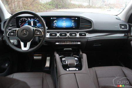 2020 Mercedes-Benz GLS 450, interior