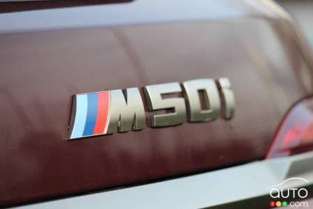 2020 BMW X7 M50i, name