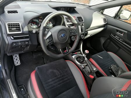 2019 Subaru Wrx Sti Review Car News Auto123