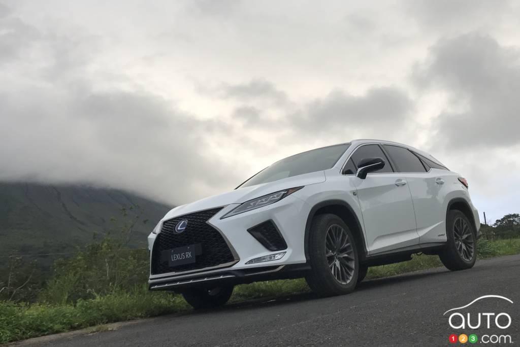 Le Lexus RX, toute propre