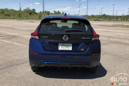 2020 Nissan LEAF Plus, rear