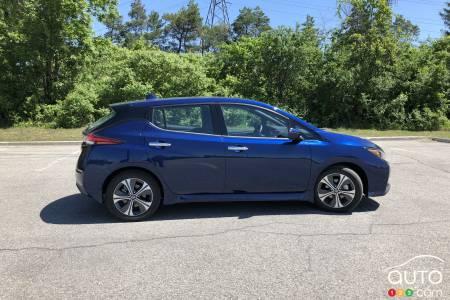 Nissan LEAF +, profile