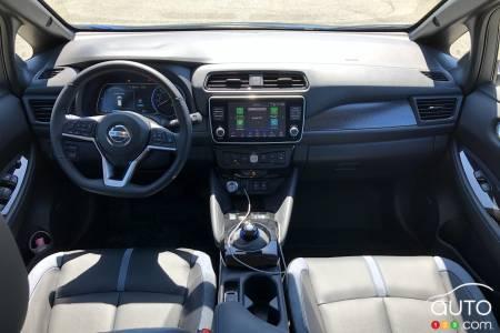 2020 Nissan LEAF Plus, interior