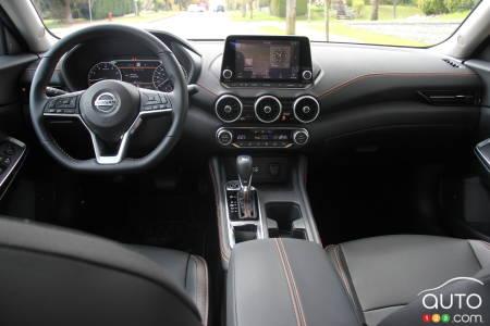 2020 Nissan Sentra, interior