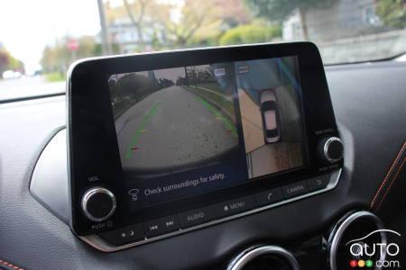 2020 Nissan Sentra, multimedia screen
